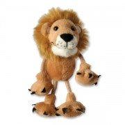 Marionnettes à doigts Lion 15cm