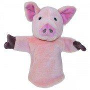 Marionnette enfant Cochon rose 25cm