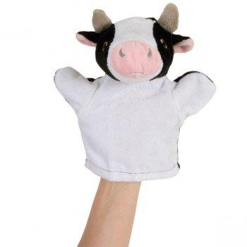 Marionnette bébé Vache à main