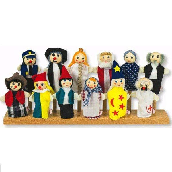 pr sentoir rangement pour marionnettes doigts marionnettes enfants. Black Bedroom Furniture Sets. Home Design Ideas