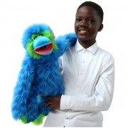 Marionnette Singe Bleu de 55cm