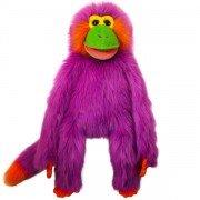 Marionnette Singe Violet de 55cm