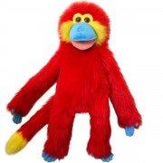 Marionnette Singe Rouge de 55cm
