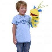 Marionnette chaussette ventriloque