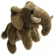 Marionnette enfant à main éléphant  30cm