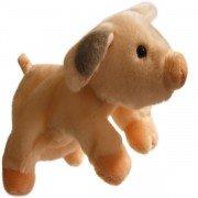 Marionnette enfant à main Cochon, 30cm