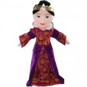 Grande Marionnette personnage Reine, 45cm