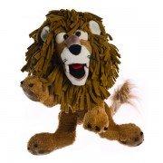Grande Marionnette Lion Carl, 43 cm