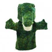 Marionnette à main enfant Crocodile 25cm