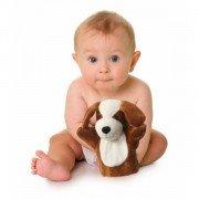 Marionnette Chien à main doudou Bébé et Enfants