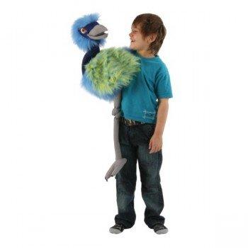 Marionnette Géante Emeu avec couineur et bouche articulée