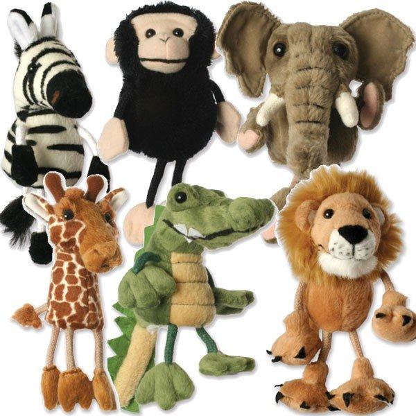 puppet company marionnette doigts animaux d 39 afrique avec pattes. Black Bedroom Furniture Sets. Home Design Ideas