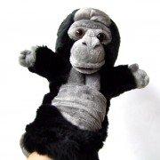 Marionnette Gorille peluche à longue manche pour enfants