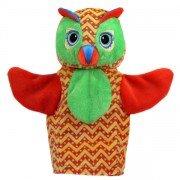 Marionnette hibou colorée à main Bébé et Enfants