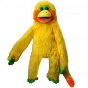 Marionnette Singe Jaune de 55cm