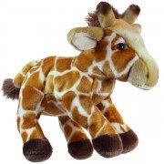 Marionnette enfant à main Girafe  30cm