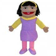 Marionnette Personnage Fille, 40cm