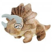 Marionnette à doigt Dinosaure Triceratops, 15cm
