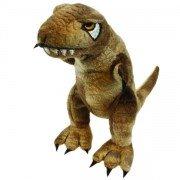 Marionnette à doigt Dinosaure Vélociraptor, 15cm