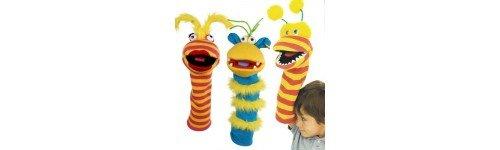 Célèbre Marionnette chaussette grand format pour le bras - Marionnettes  WH52
